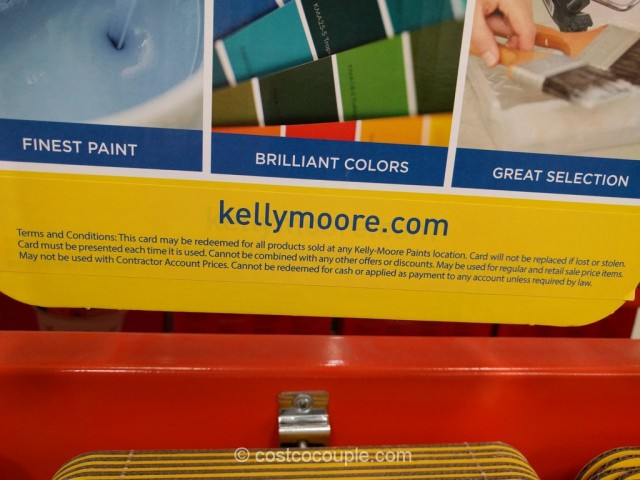 Gift Card Kelly Moore Paints Costco 3