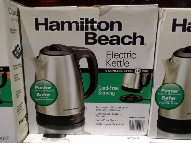 Hamilton Beach 40993E Electric Kettle Costco 3