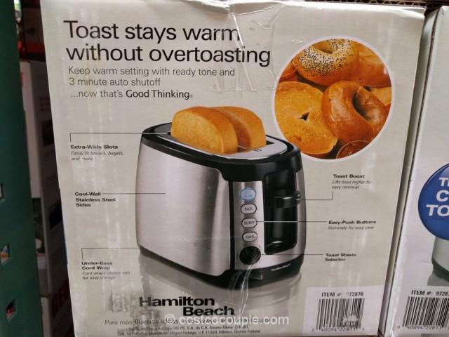 Hamilton Beach Keep Warm Toaster Costco 4