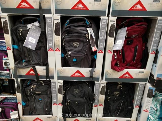 2f16aac25f6 High Sierra Elite Business Backpack Costco 1