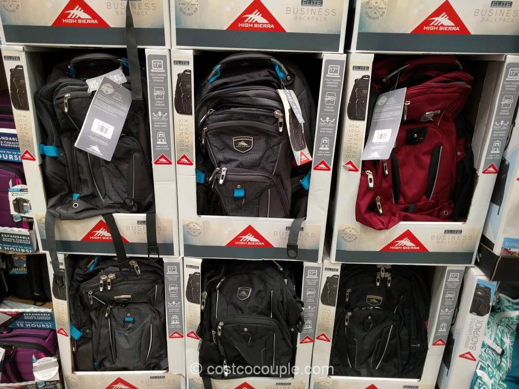 High Sierra Elite Business Backpack Costco 1