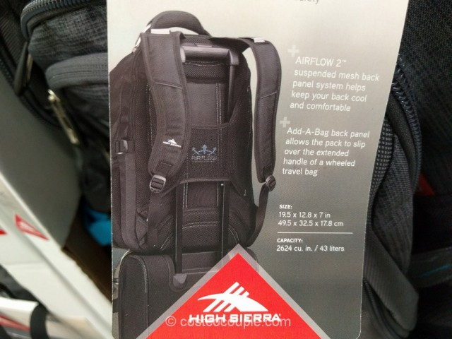 High Sierra Elite Business Backpack
