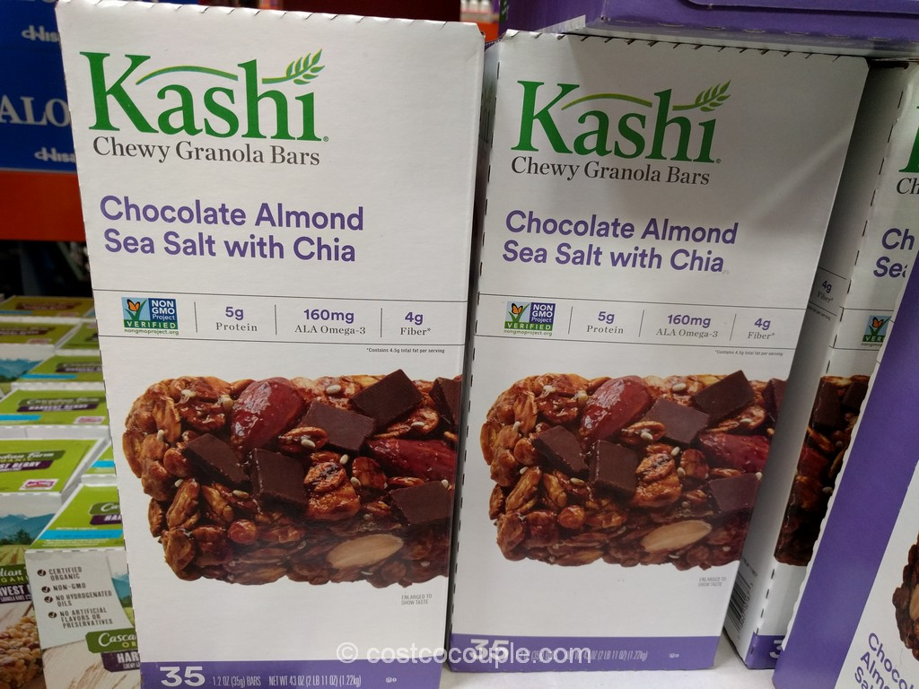 Kashi Chocolate Almond And Sea Salt Granola Bar Costco 1