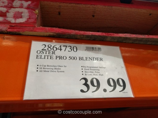 Oster Pro 500 Blender Costco 1