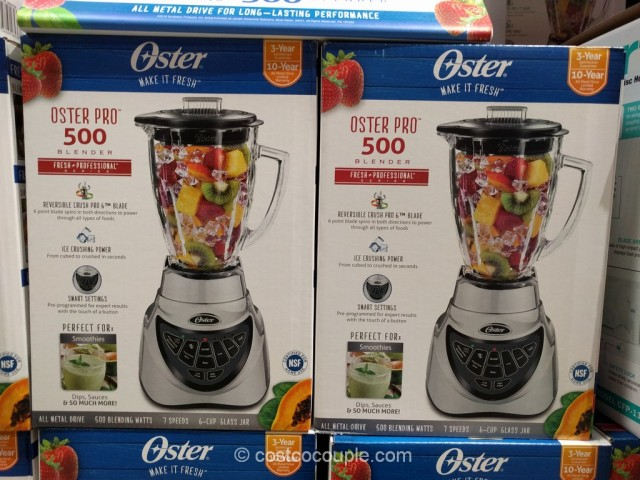 Oster Pro 500 Blender Costco 4