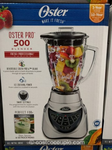 Oster Pro 500 Blender Costco 5
