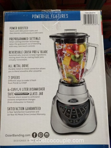 Oster Pro 500 Blender Costco 6