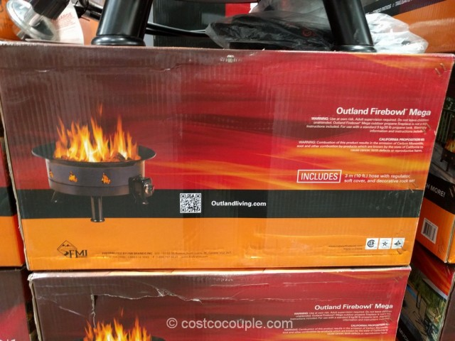 Outland Portable Propane Firebowl Costco 3
