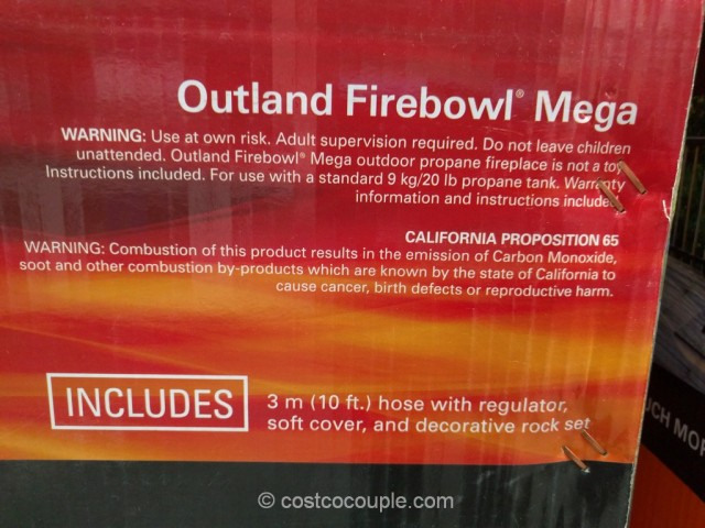 Outland Portable Propane Firebowl Costco 5
