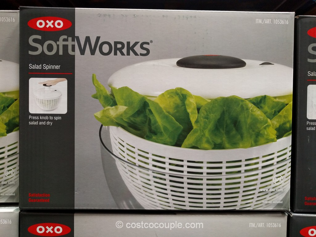 Oxo Softworks Salad Spinner Costco 2
