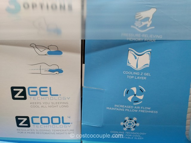 Purelux ComfortCool Memory Foam Pillow Costco 4