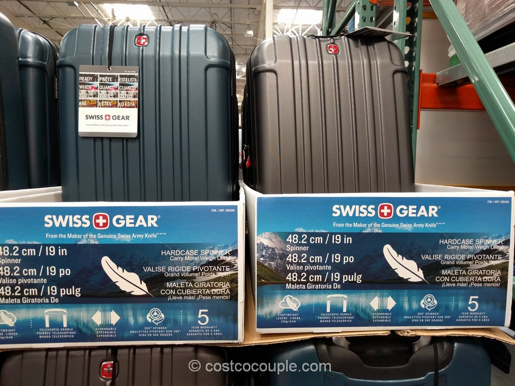 Swiss Gear 20-Inch Hardside Spinner Costco 3