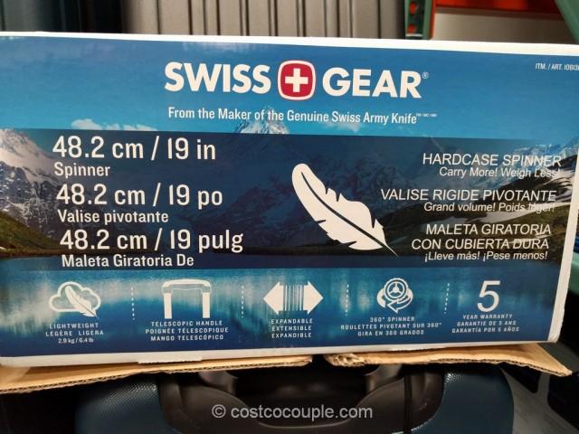 Swiss Gear 20-Inch Hardside Spinner Costco 4