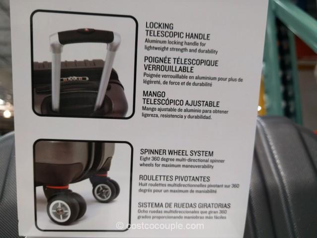 Swiss Gear 20-Inch Hardside Spinner Costco 7