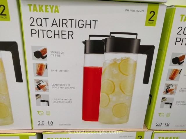 Takeya USA Airtight Pitcher Costco 3