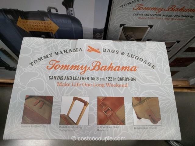 Tommy Bahama Rolling Canvas Duffel Bag  Costco 3