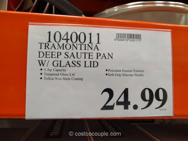 Tramontina Deep Saute Pan Costco 1