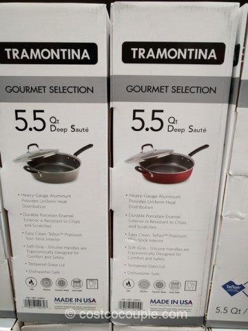 Tramontina Deep Saute Pan Costco 3
