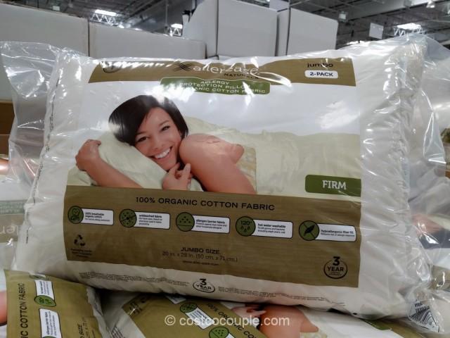 Allerease Naturals Organic Cotton Cover Jumbo Pillow Costco 3