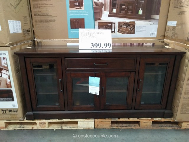 Bayside Furnishings Brockport TV Console Costco 2