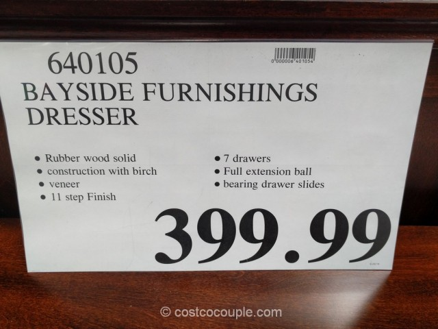 Bayside Furnishings Dresser Costco 1