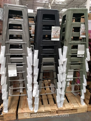 Bayside Furnishings Metal Barstool Costco 2