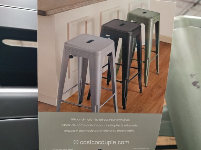 Bayside Furnishings Metal Barstool Costco 5