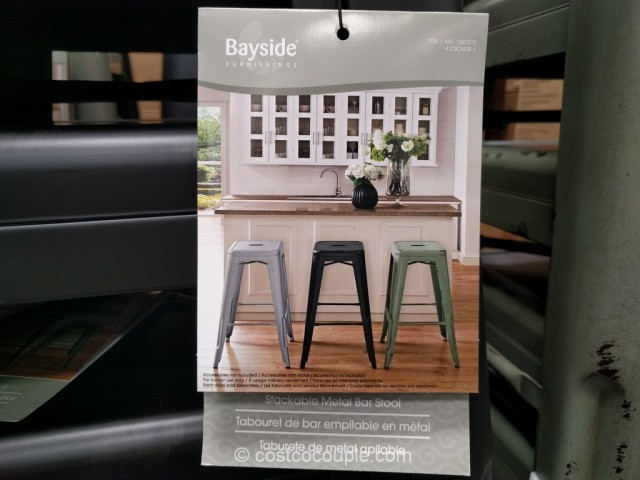 Bayside Furnishings Metal Barstool Costco 6