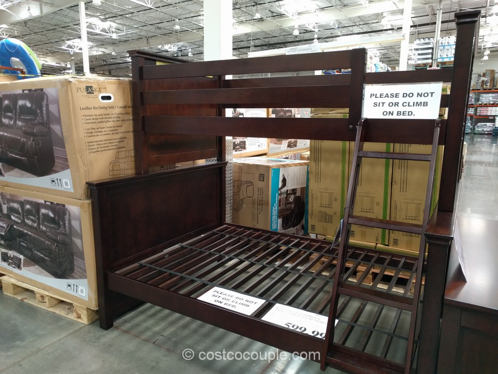 Bayside Furnishings Twin Over Full Bunkbed Costco 2