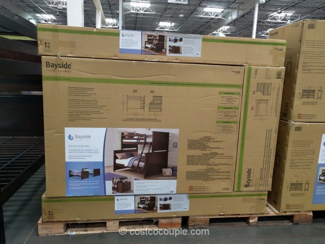 Bayside Furnishings Twin Over Full Bunkbed Costco 8