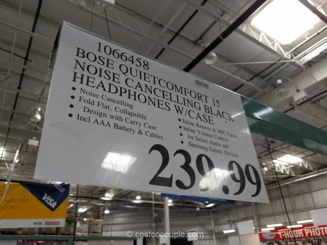 Bose QuietComfort 15 Noise Cancelling Headphones Costco 1