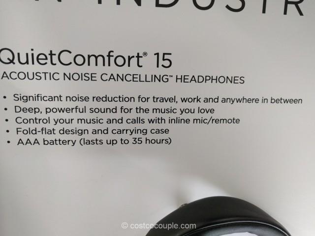 Bose QuietComfort 15 Noise Cancelling Headphones Costco 3