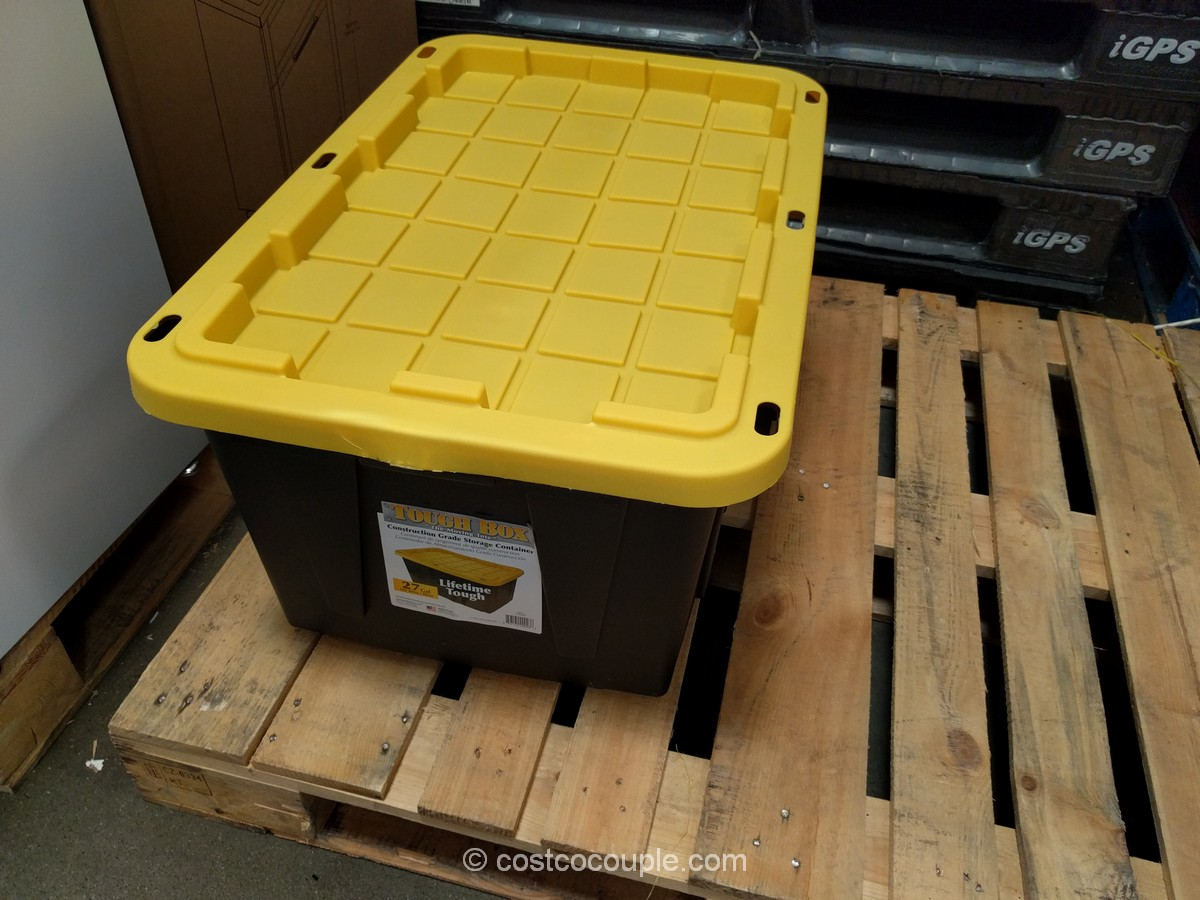Centrex Plastics 27Gal Tough Box Tote Costco 2