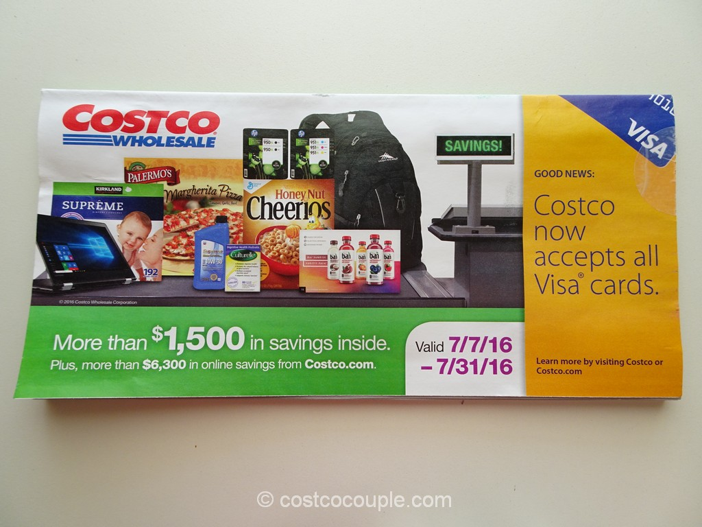 Costco July 2016 Coupon Book 1