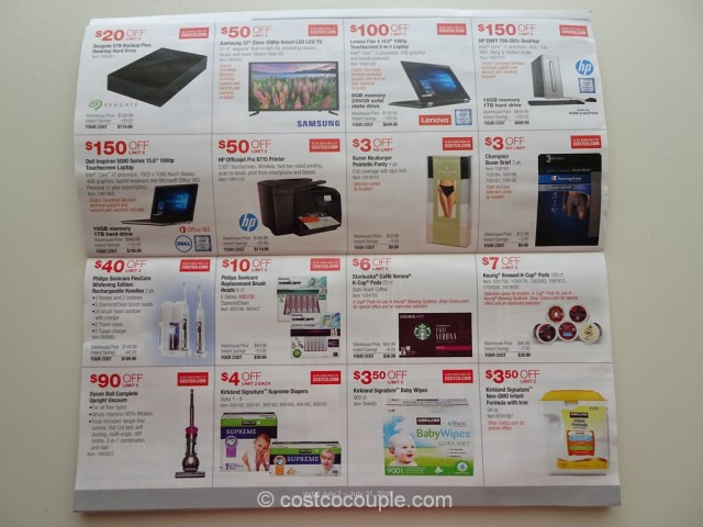 Costco July 2016 Coupon Book 3