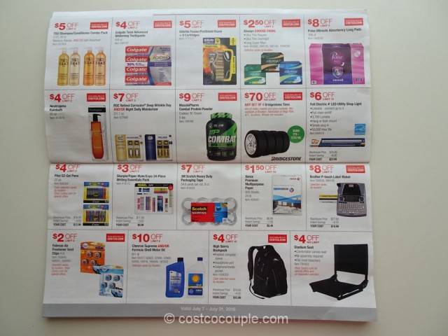 Costco July 2016 Coupon Book 4