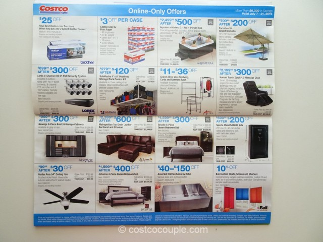 Costco July 2016 Coupon Book 9