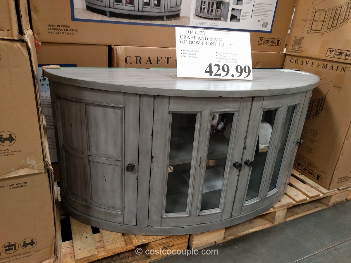 Craft and Main Bow Front Cabinet Costco 1