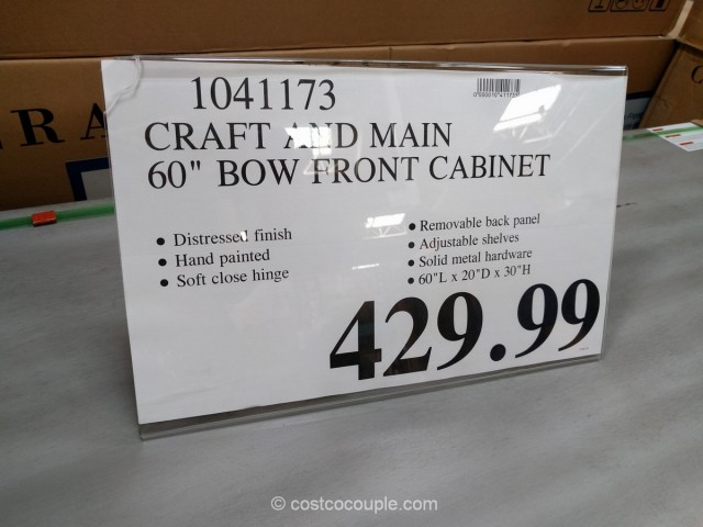 Craft and Main Bow Front Cabinet Costco 2