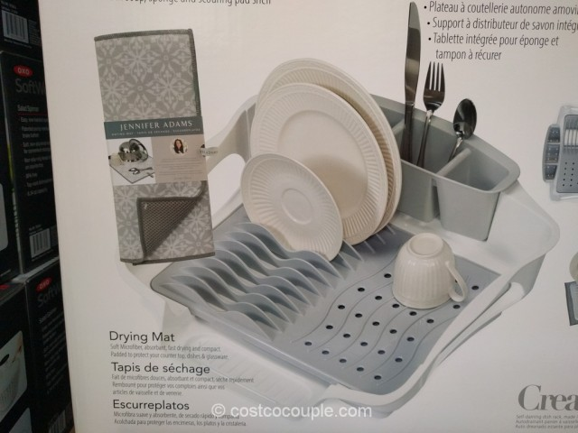 Creative Ware Self-Draining Dish Rack Costco 6