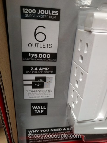 CyberPower Surge Protector Pack Costco 4