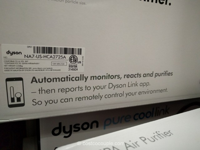 Dyson Pure Cool Link Air Purifier Costco 4