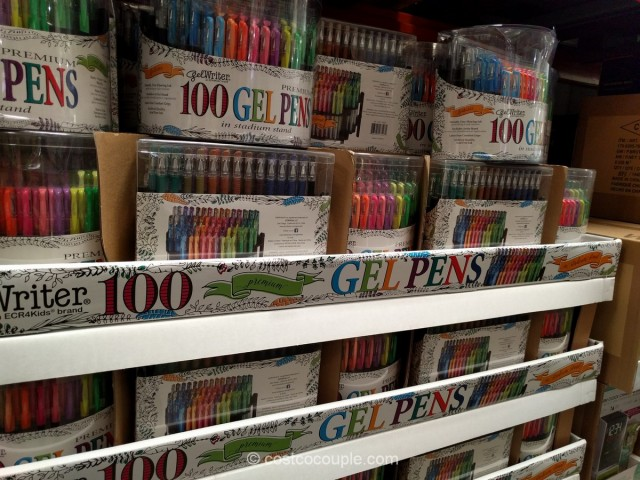 Gelwriter Premium Gel Pens With Stadium Stand Costco 1