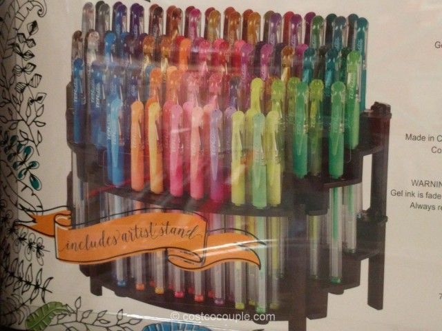 Gelwriter Premium Gel Pens With Stadium Stand Costco 4