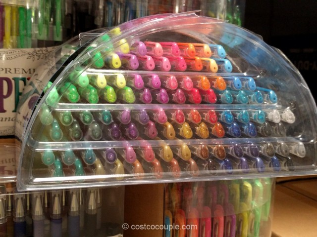 Gelwriter Premium Gel Pens With Stadium Stand Costco 5