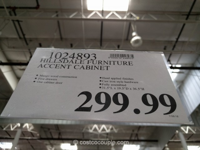Hillsdale Furniture Accent Cabinet Costco 1