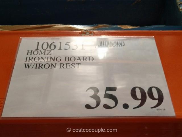 Homz Professional Wide Top Ironing Board Costco 1