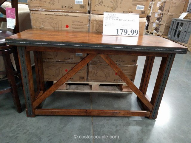 Klaussner Multifunctional Table Costco 1