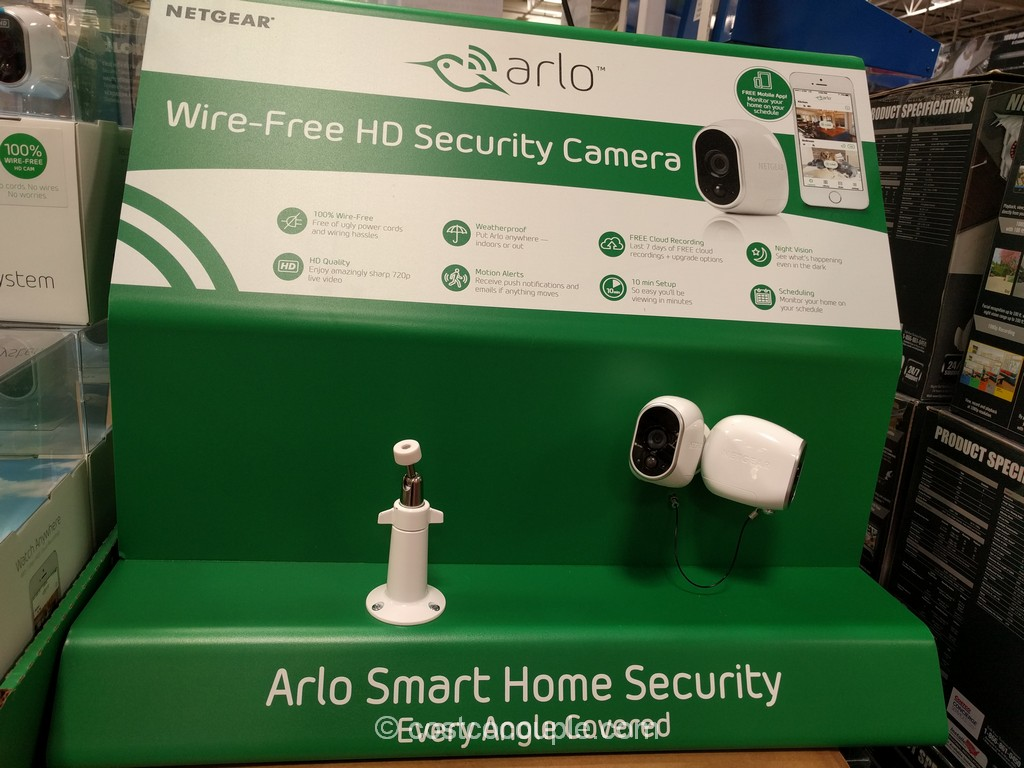 Netgear Arlo Wire-Free HD Security Camera System Costco 2