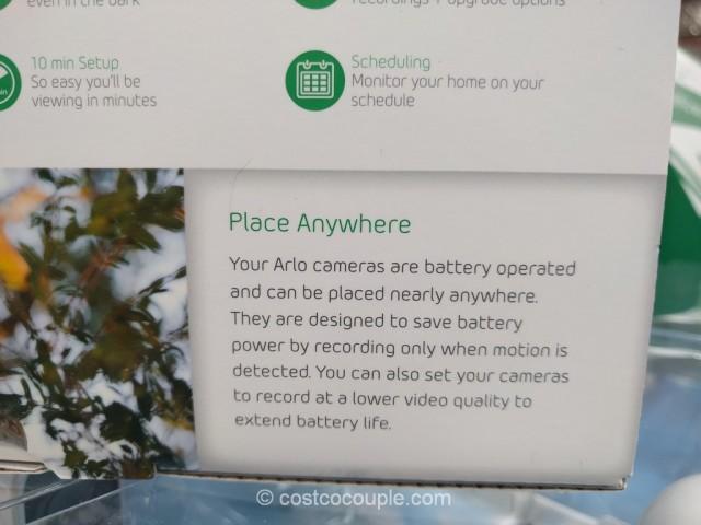 Netgear Arlo Wire-Free HD Security Camera System Costco 7